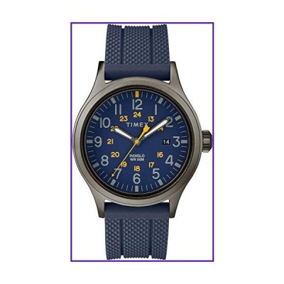 Military Allied Field Metal Analog Elevated Mens Watch / Blue 並行輸入品