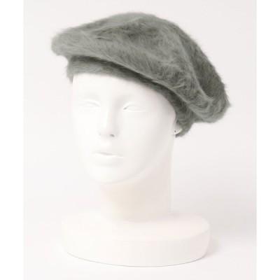 帽子 アンゴラベレー帽