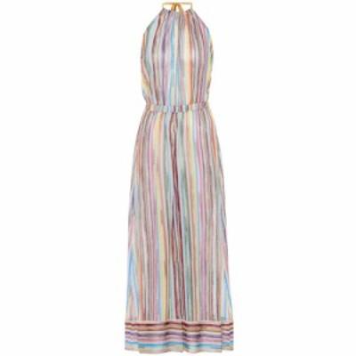 ミッソーニ Missoni Mare レディース オールインワン ジャンプスーツ ワンピース・ドレス Striped knit jumpsuit