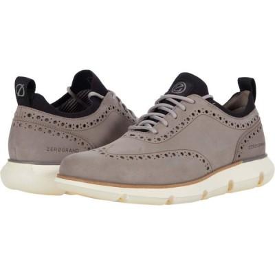 コールハーン Cole Haan メンズ 革靴・ビジネスシューズ シューズ・靴 4.Zerogrand Oxford Ironstone Nubuck/Ivory