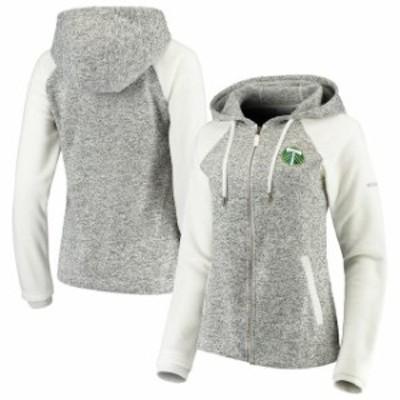 Columbia コロンビア スポーツ用品  Columbia Portland Timbers Womens White Darling Days Full-Zip Jacket