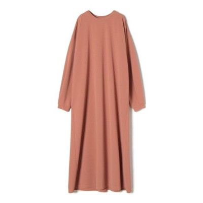 SHIPS for women/シップスウィメン ジャージーバックタックワンピース クリアレッド ONE SIZE