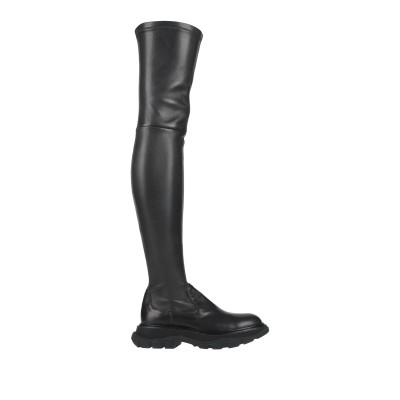 アレキサンダー マックイーン ALEXANDER MCQUEEN ブーツ ブラック 36.5 革 ブーツ