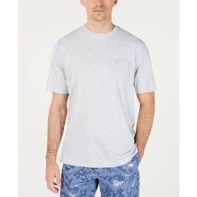 トッミーバハマ Tシャツ トップス メンズ Men's Bali Sky T-Shirt Zinc Grey Heather