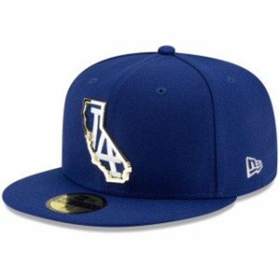 New Era ニュー エラ スポーツ用品  New Era Los Angeles Dodgers Royal Metal and Thread State 59FIFTY Fitted Hat