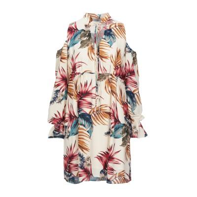 FLY GIRL ミニワンピース&ドレス アイボリー S ポリエステル 100% ミニワンピース&ドレス
