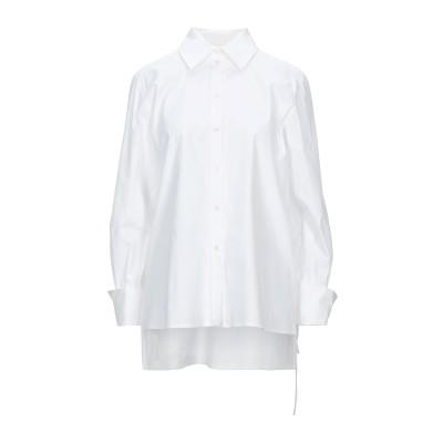 CAROLINA HERRERA シャツ ホワイト 4 コットン 97% / ポリウレタン 3% シャツ