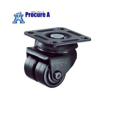 ハンマー 低床中荷重用旋回式ナイロン車輪(ローラーベアリング)50mm 550P-NRB50BAR01 ▼367-2077 ハンマーキャスター(株)