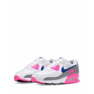 ナイキ レディース スニーカー シューズ Women's Air Max 90 Low Top Sneakers White/Pink/Blue
