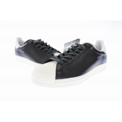 【中古】アディダス adidas Superstar Pure スパースター ピュア スニーカー FV3015 27.5 黒 白 ▲■ 201212 0030