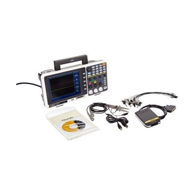 Owon MSO8102T Series MSO Mixed Signal Oscilloscope with 16-Channel Logic Analyzer, 2 Channels, 100 MHz, 2GS/s Sample Rate