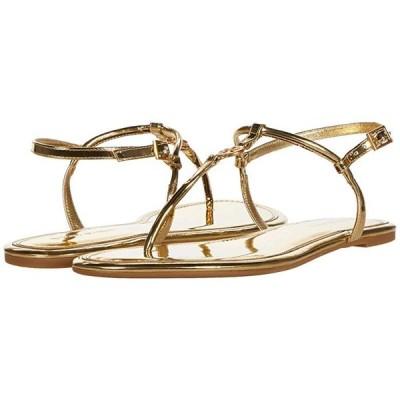 トリーバーチ Emmy Flat Sandal レディース サンダル Gold
