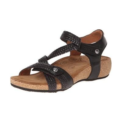 Taos Footwear レディース Trulie レザーサンダル US サイズ: 8-8.5 カラー: ブラック