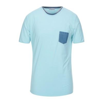 グラン サッソ GRAN SASSO T シャツ スカイブルー 54 コットン 90% / ポリウレタン® 10% T シャツ