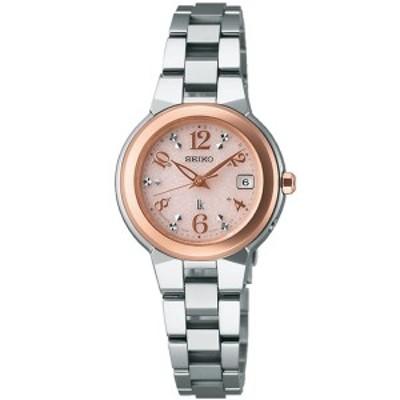 【正規品】SEIKO セイコー 腕時計 SSQW016 レディース LUKIA ルキア 電波修正 ソーラー