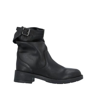 STELE ショートブーツ ブラック 41 牛革(カーフ) ショートブーツ