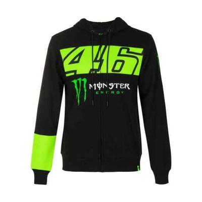 \実質3%引★プレミアム会員/VR46 Monster Dual フリースジャケット カジュアルジャケット スポーティ バイク かっこいい