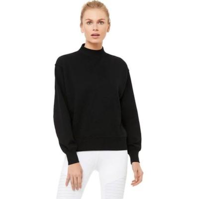 (取寄)アローヨガ レディース フリースタイル トレーナー ALO YOGA Women Freestyle Sweatshirt Black