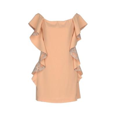 ピンコ PINKO ミニワンピース&ドレス ベージュ 40 100% ポリエステル ミニワンピース&ドレス