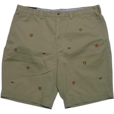 ポロ ラルフローレン ショートパンツ 刺繍 ショーツ ベージュ メンズ Polo Ralph Lauren 133