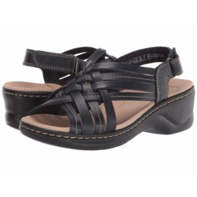 Clarks クラークス レディース 女性用 シューズ 靴 ヒール Lexi Carmen Navy Leather【送料無料】