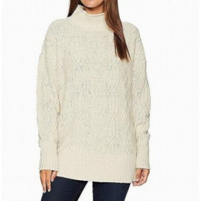 Pendleton ペンドルトン ファッション トップス Pendleton Womens White Ivory Size Medium M Turtleneck Knitted Sweater