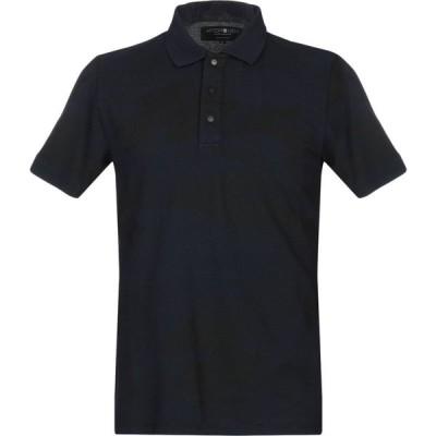 ハイドロゲン HYDROGEN メンズ ポロシャツ トップス Polo Shirt Dark blue