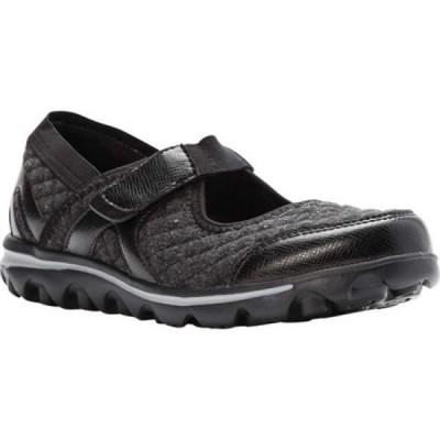 プロペット Propet レディース シューズ・靴 Onalee Mary Jane Black Quilted Jersey
