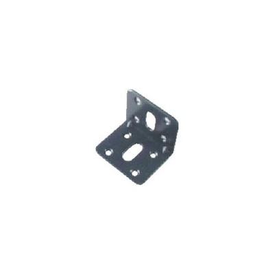 TRUSCO ジョイント金具45型L 黒 37×37 TK45−L2ACP 1個 (メーカー直送)