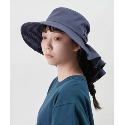 OVERRIDE / 【ORNERTE】[WEB別注]CL ドット ギャザーHAT WOMEN 帽子 > ハット