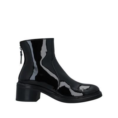 AGL ATTILIO GIUSTI LEOMBRUNI ショートブーツ ブラック 36 革 ショートブーツ