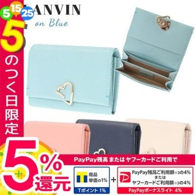 ランバンオンブルー カードケース 名刺入れ LANVIN en Bleu ロシェ 牛革 482583 新春