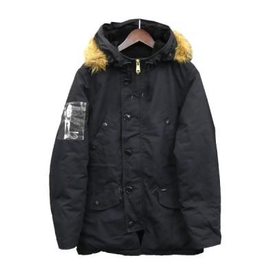 SUPREME 14AW「Cotton Ripstop Parka」N-3Bタイプコート ブラック サイズ:S (新宿店) 200916