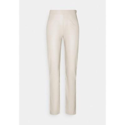 ニリーバイネリー カジュアルパンツ レディース ボトムス TAILORED PANTS - Trousers - beige