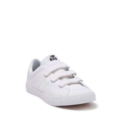 ニューバランス メンズ スニーカー シューズ AM210 Canvas Sneaker WHITE