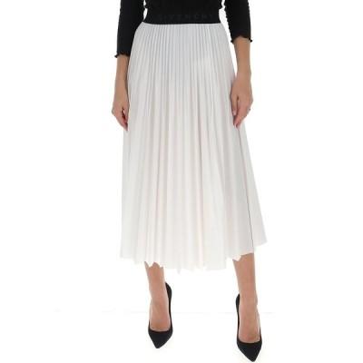 ジバンシー レディース スカート ボトムス Givenchy Logo Band Pleated Skirt -