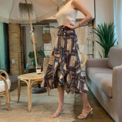 送料無料 2色 スカート 夏スカート 春夏スカート ロング 夏 レディース 夏スカート ロングスカート 春夏ロングスカート ラップスカート