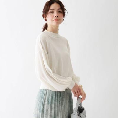 エージー バイ アクアガール AG by aquagirl シアードルマンニット (ホワイト)