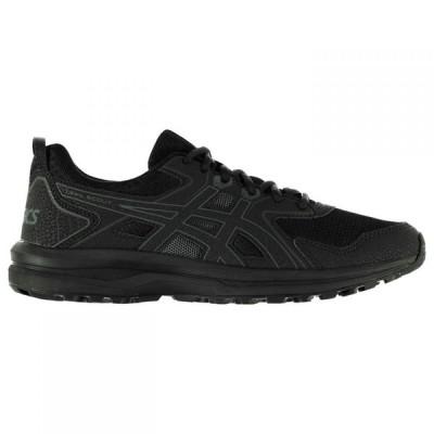 アシックス Asics メンズ ランニング・ウォーキング シューズ・靴 Trail Scout Trail Running Shoes Black/Grey