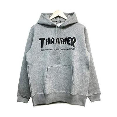 マグロゴ パーカー THRASHER TH8501 (GREY, M)