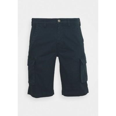リンドーバーグ カジュアルパンツ メンズ ボトムス Shorts - dark blue