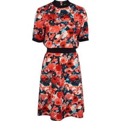 ケンゾー Kenzo レディース ワンピース ワンピース・ドレス Floral-Print Cotton-Blend Dress Multi