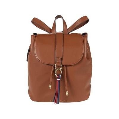 トミー・ヒルフィガー EVA Flap Backpack Smooth レディース バックパック リュックサック Cognac