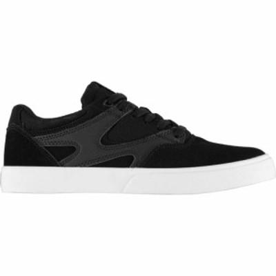 ディーシー DC メンズ スケートボード シューズ・靴 Kalis Skate Shoes Black BKW