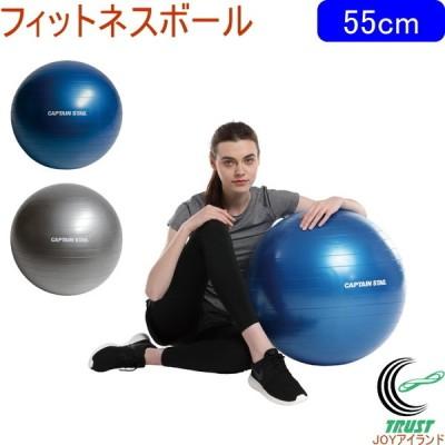 キャプテンスタッグ Vit Fit フィットネスボール 55cm 全2色 ストレッチ 運動 エクササイズ ヨガ ボール 体幹 バランス フィットネス