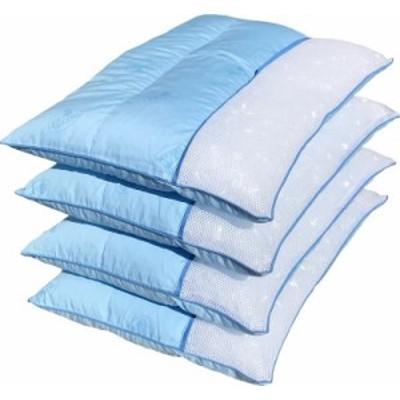 4個セット 3層型やわらかめソフトパイプ枕 中材 約800g 約35×50cm BL 【日本製】 【国内加工】 【パイプ】 【パイプ枕】