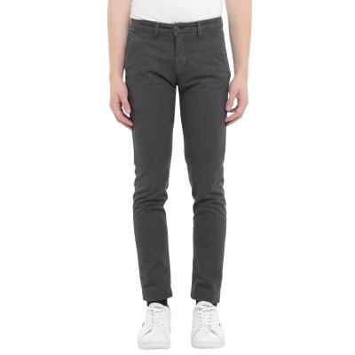 LIU •JO MAN パンツ 鉛色 42 コットン 98% / ポリウレタン 2% パンツ