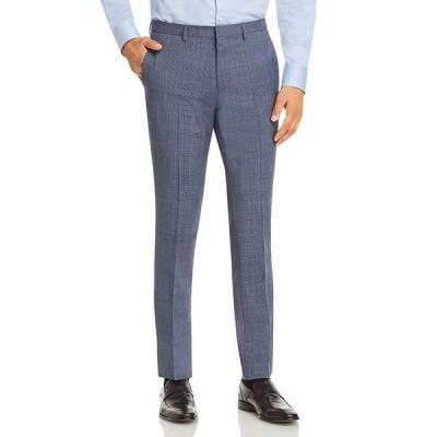 フューゴ メンズ カジュアルパンツ ボトムス Hesten Plaid Extra Slim Fit Suit Pants