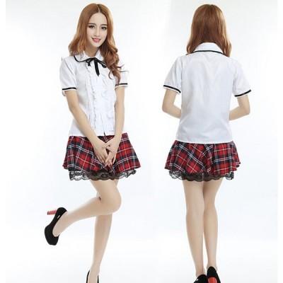 セーラー服 JK ユニフォーム セーラー スカート 女子高生 制服 上下セット nbgss0115june45
