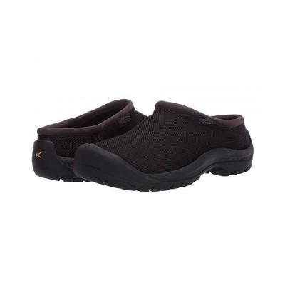Keen キーン レディース 女性用 シューズ 靴 スニーカー 運動靴 Kaci Slide Mesh - Black/Raven